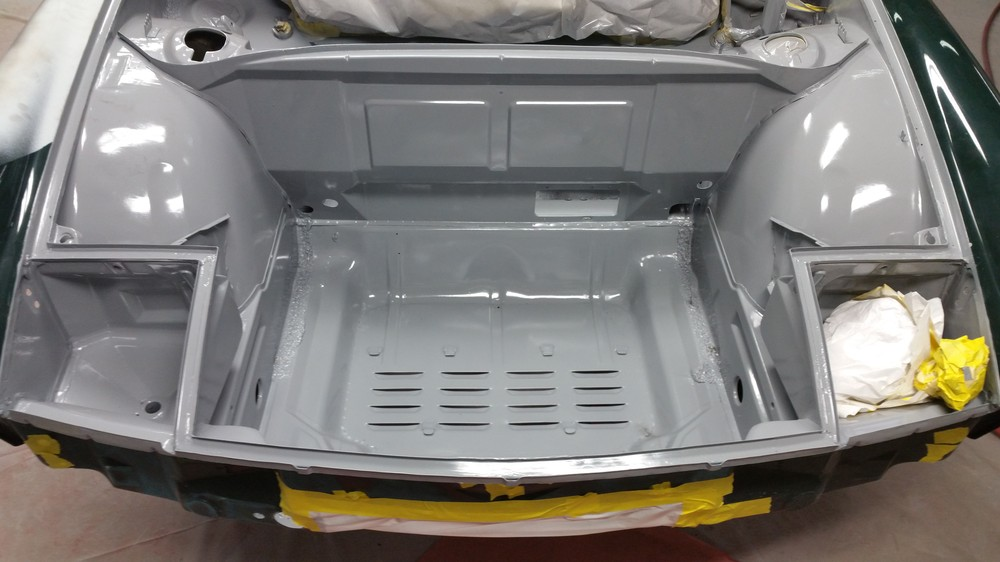 914-6 front trunk are in DTM