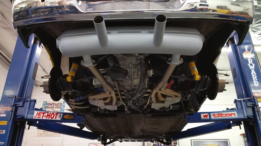 914-6 rear exhaust