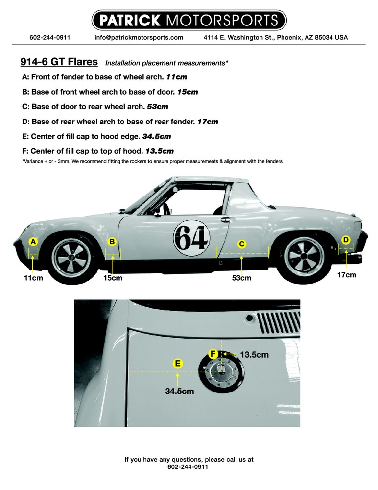 9146 GT flare reference