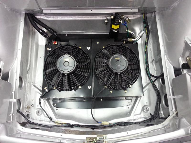 916 GB oil & AC fans
