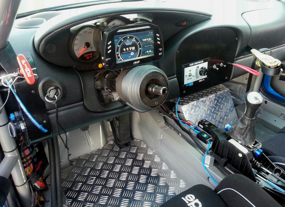 986 BSR 777 AIM dash view