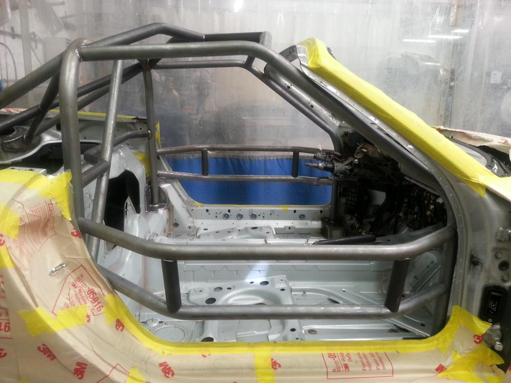 986 BSR 777 cage side view