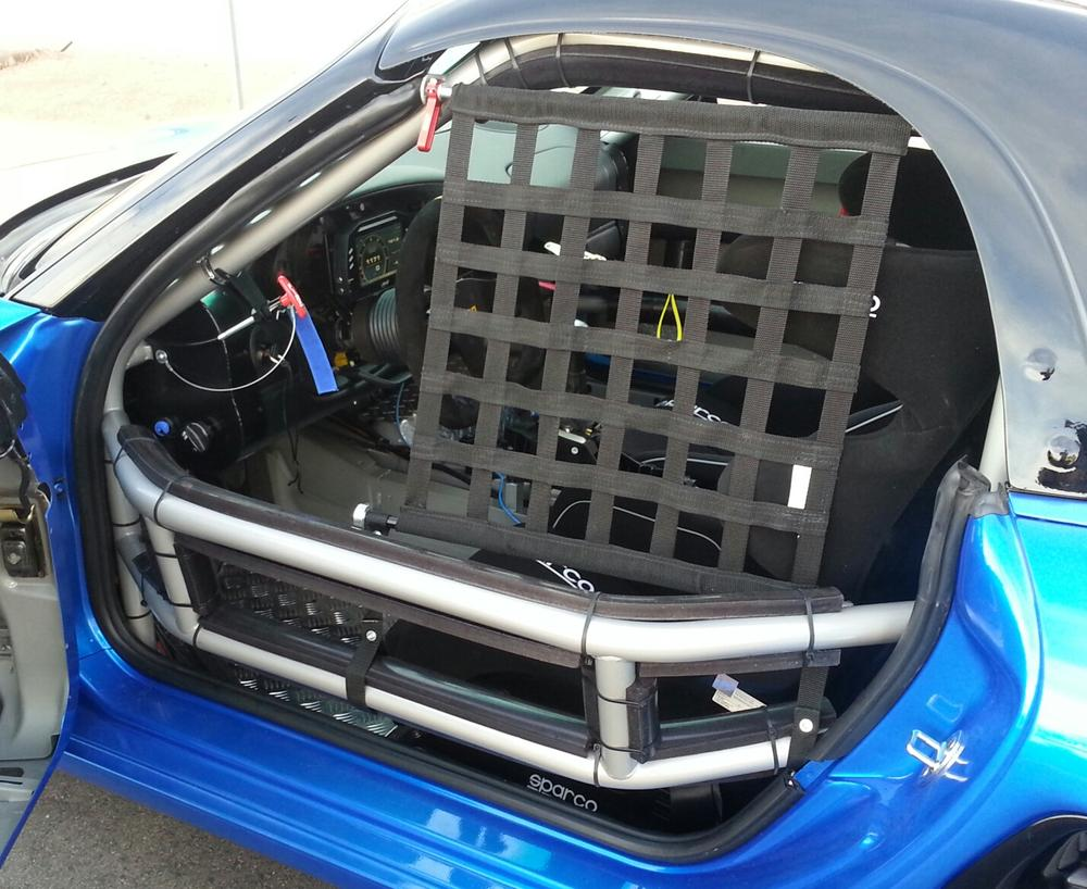 986 BSR 777 drivers cage opening w net