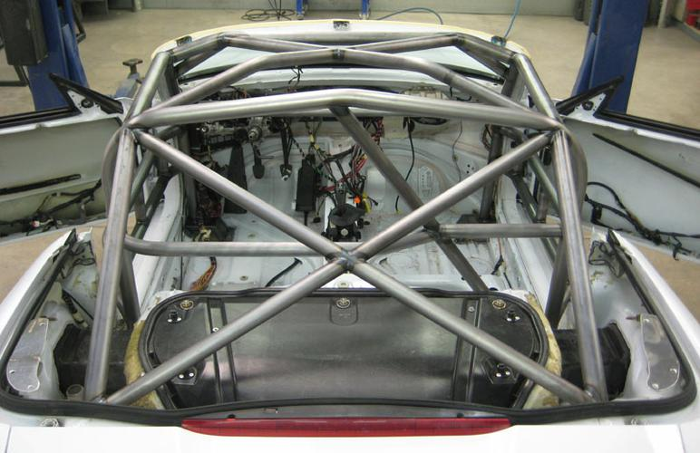 986 BSR # 17 rear cage