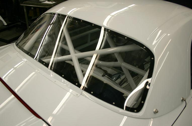 986 BSR # 17 rear window
