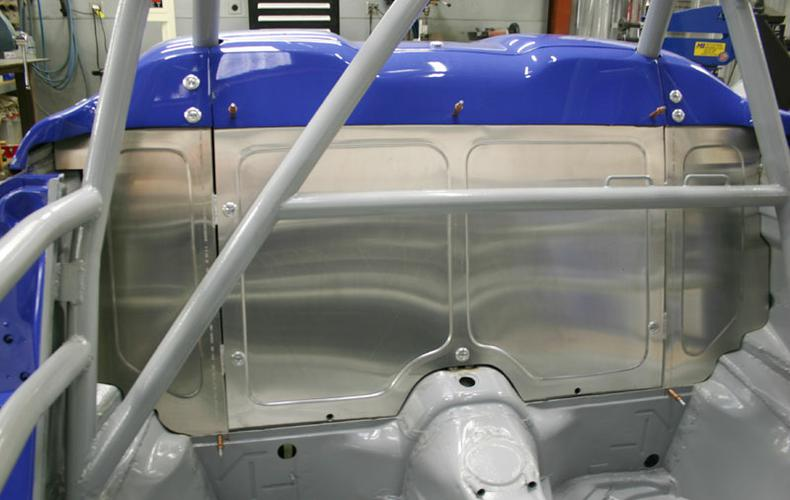 Speedster 993 RSR-rear-bulkhead-in-alum