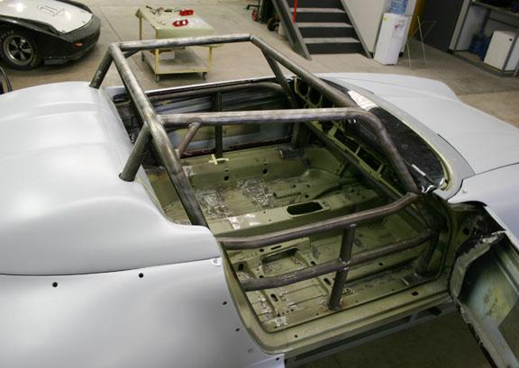 Speedster 993 chassis prep