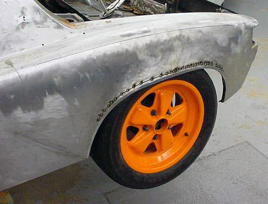 914-6 Race Car - Rear Flair
