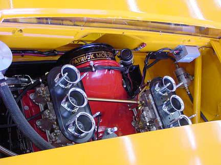914-6 Race Car 2L Engine Top Side