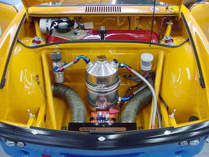 914-6 Race Car - Front Oil Tank & Cooler