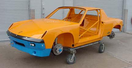 914-6 Race Car - Front Quarter