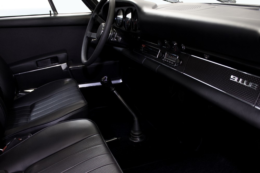 911 E Leather Interior Work